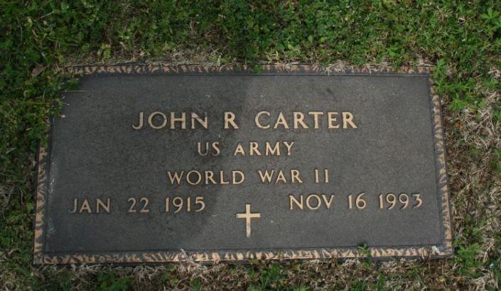 Carter,John R military