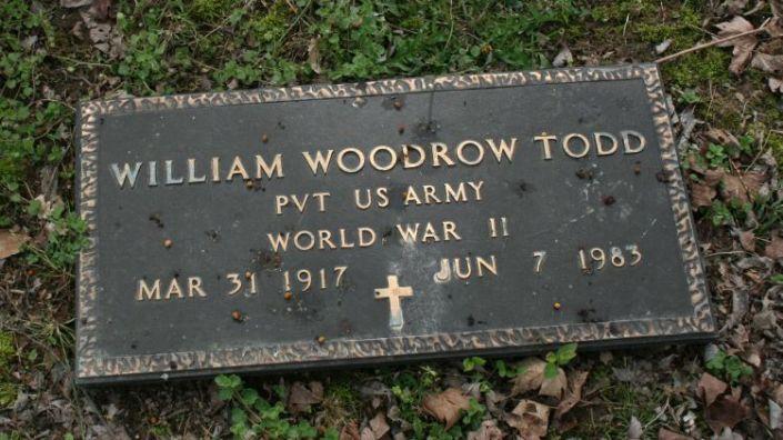 Todd,Wm Woodrow military