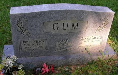 Gum,Doyle Wilson