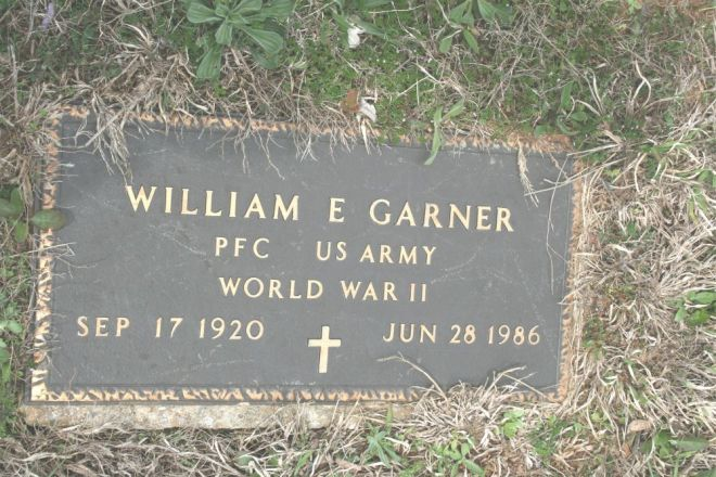 garner,william military